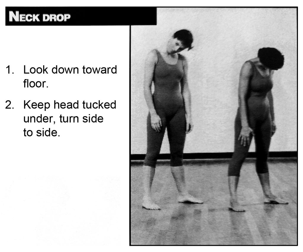 Neck Drop Exercise