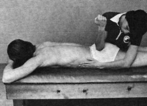 Doing Myotherapy on Sciatic Nerve
