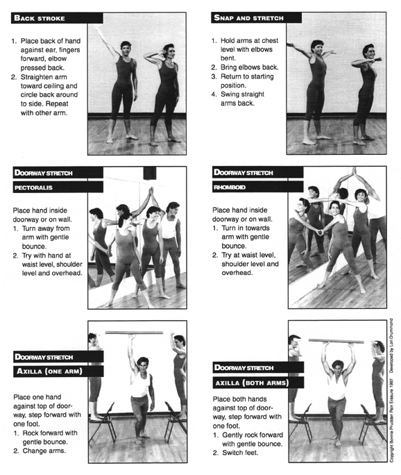 Shoulder Flexibility Exercises