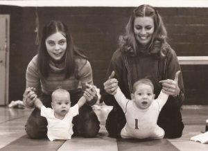 Babies need exercise too: photo