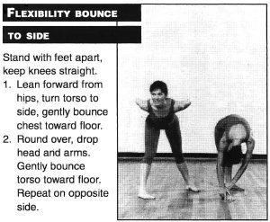 Flexibility Bounce to the Side