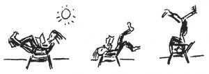 How to Use a Chair - by Bonnie Prudden