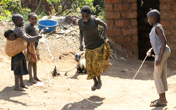 Jump Rope in Africa